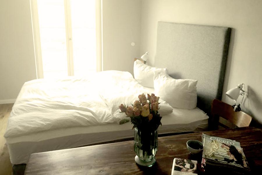 haus auf dem land ferienhaus brandenburg schlafzimmer bild 1